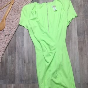 Rubber Ducky Productions Inc 90's Neon Dress